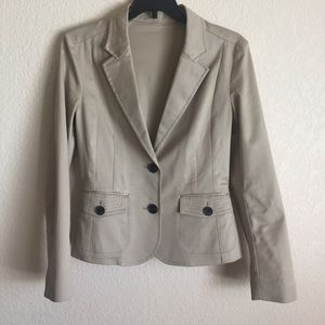 Mango fitted office casual blazer jacket